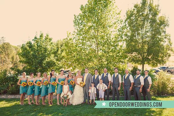 Between (Zak and Ansley's Wedding)