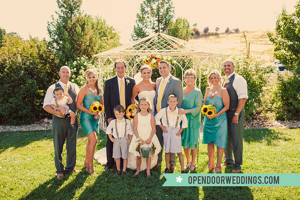 Family (Zak and Ansley's Wedding)
