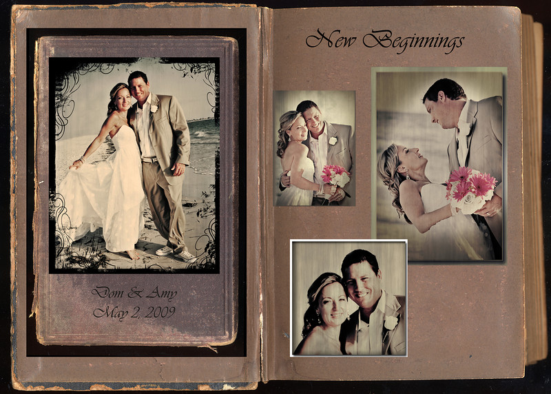 """""""New Beginnings"""" 4 Photo collage 28x20 inches"""