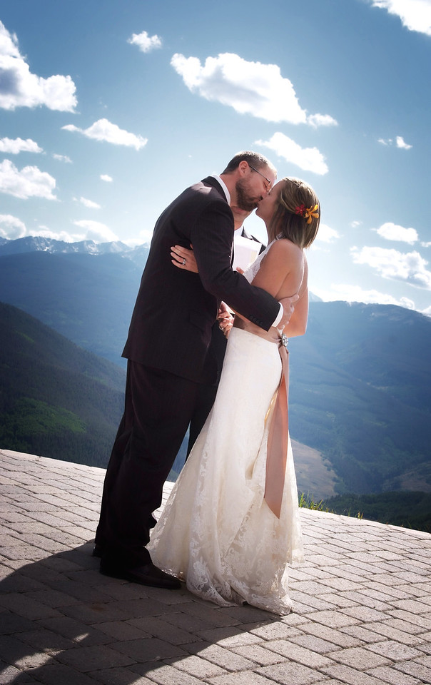 Mount of the Holy Cross wedding Vail