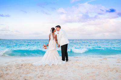 Destination Wedding at Casa del Mar in Exuma Bahamas photo by Reno Curling #renocurling