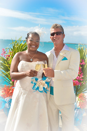 Just Married - Exuma Bahamas