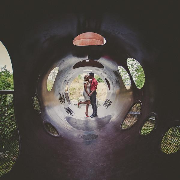 Olympic Village Art Tunnel