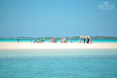 Sandbar Wedding in Exuma Bahamas