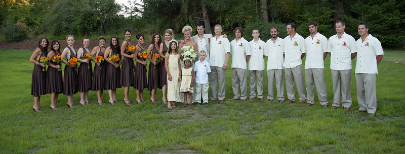 Amber and Sean's Wedding, San Juan Island