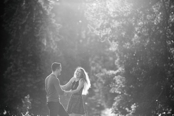 Engagement Session @ Queen Elizabeth Park, Vancouver BC