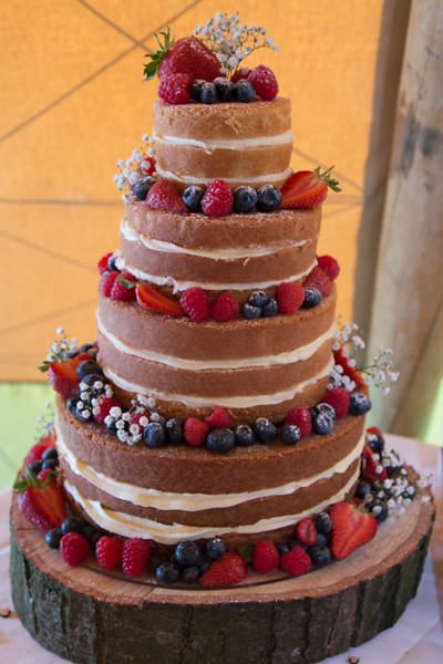 Viviane & Stuart's wedding (cake!)