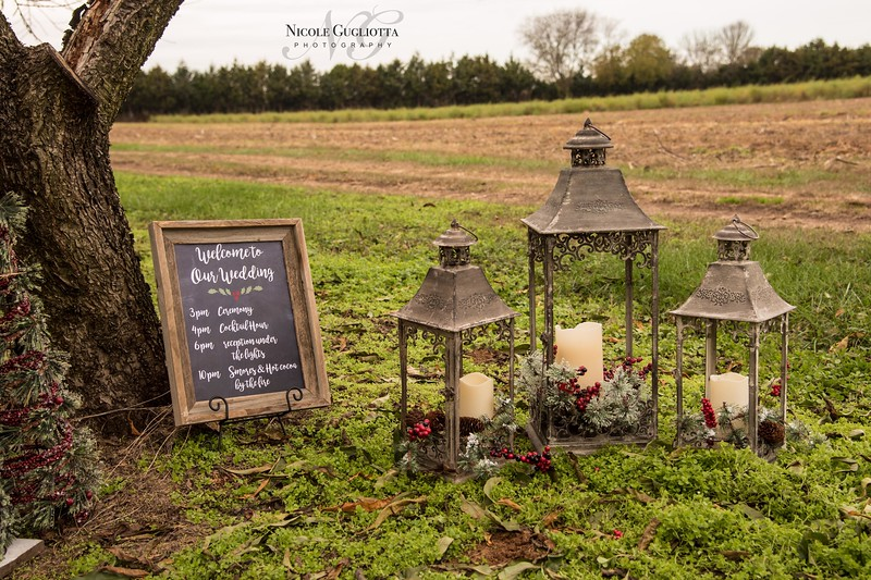 Welcome to our Holiday Wedding!