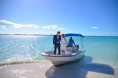 Private Island Wedding in Exuma Bahamas photo by Reno Curling #renocurling