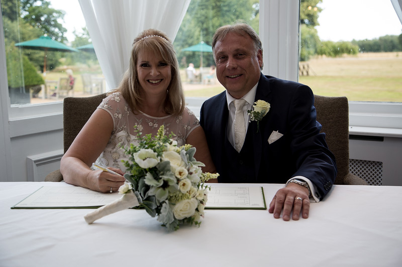 The wedding of Janice & Darren, Chilston Park Hotel