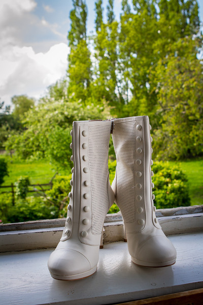 Les bottes de la mariée