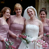 Petrina and bridesmaids.