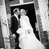 Sortie des mariés de la maison communale