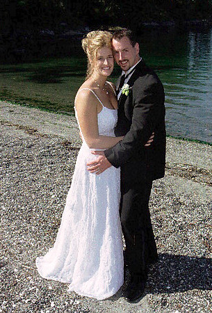 Bride and Groom, Lopez Island, WA