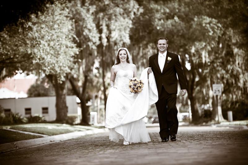 Rachel and David's First United Methodist Wedding Photos by Orlando Wedding Photographer Joe Daylor