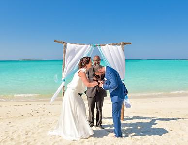 Wedding in Exuma Bahamas photo by Reno Curling #renocurling