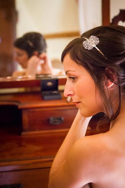 La mariée est pensive