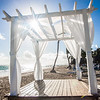 Wedding Alter at Grand Bahia & Principe on Bavaro Beach in the Dominican Republic.