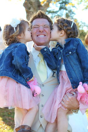 Daddy's little girls...
