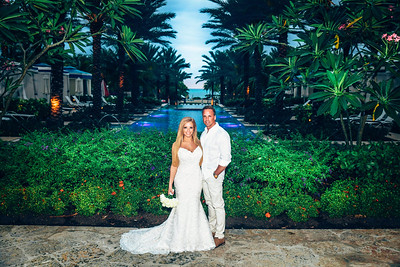 Destination wedding at Baha Mar in Nassau Bahamas photo by Reno Curling #renocurling