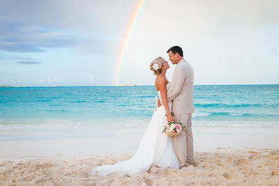 Exuma Beach Wedding photo by Reno Curling #renocurling