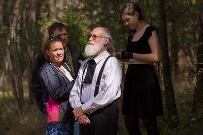 Millhea and Mitchell wedding