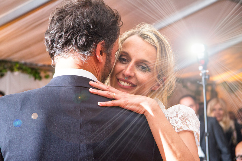 La première danse des mariés