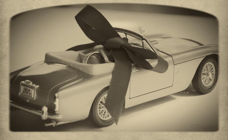 Wedding Rings in Car II