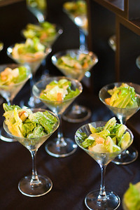 "Key Lime Caesar Salad ""Martini"""