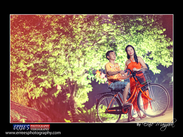 You And Me My Love Erwin And Mayflor Engagement Manila