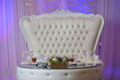 Royal Wedding Chair Theme
