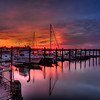 November Sunset, Belmar Marina