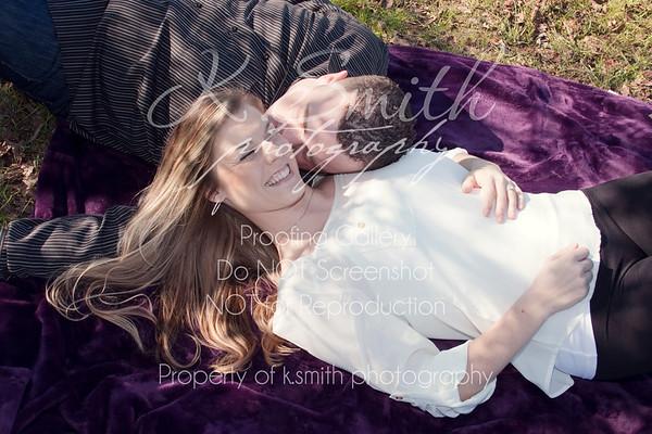 Charlana + Jon | Folsom Lake Engagement Photography | January 2013