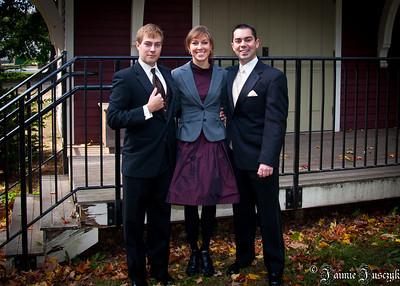 Jonathan, Jaimie, Mike.