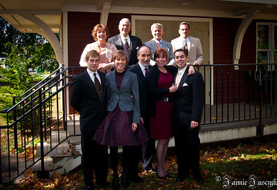 Back: Laurie, Ed, Buddy, Dave Front: Jonathan, Jaimie, Raffi, Susan, Mike