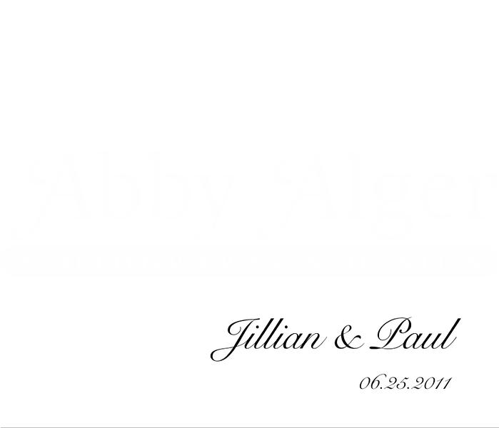 Jillian & Paul Album 01