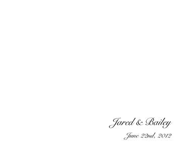 Jared & Bailey Wedding Album 01