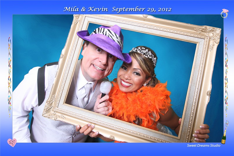 Mila & Keving Photo Booth Wedding Country Club NJ NY