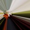 Bewerking van de foto van de corsage van de bruidegom