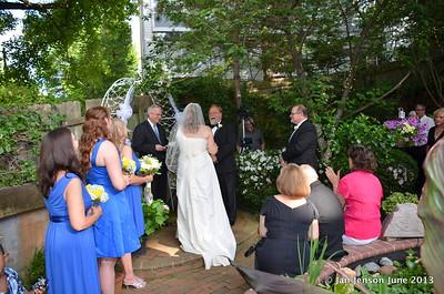 Bob & Joy (Davies) DeLano wedding  6-1-2013