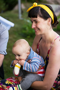 Claire and Christian Hague, August 2014  Kennebunkport, Maine