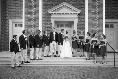 Wedding at River Road Baptist Church in Richmond, Virginia
