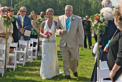 Wedding in West Point, Virginia