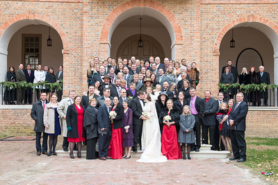 Wren Chapel at William and Mary Wedding