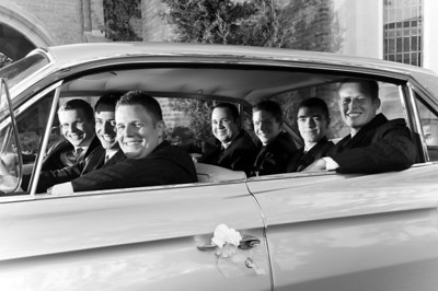 Wedding of Megan Pickard and Matt, Sept. 18, 2009. Photo by Megan Bearder