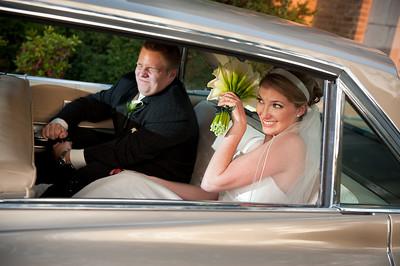 1st Place- Wedding Photojournalism- Sept. 09. Wedding of Megan Pickard and Matt, Sept. 18, 2009. Photo by Megan Bearder