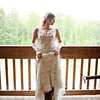 The Bride looked gorgeous against The Stable at Lake Martin's landscape. Photo by Daniel Taylor Photography