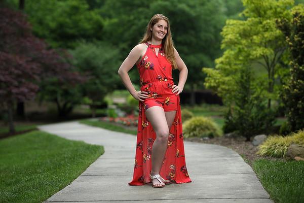 Faith Latham Senior/cap and gown