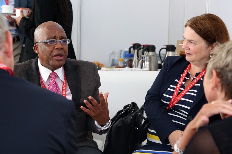 21st International AIDS Conference (AIDS 2016), Durban, South Africa. Wednesday July 2016, VENUE : Durban ICC (Green Room) Wednesday Plenary Backstage Pictures before going onto stage Photo©International AIDS Society/Abhi Indrarajan