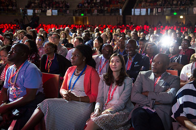 21st International AIDS Conference (AIDS 2016), Durban, South Africa. What is our goal? (WEPL01)  , 20 July, 2016. Photo©International AIDS Society/Rogan Ward